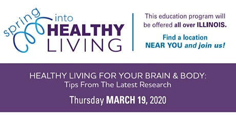 Healthy Living for Your Brain & Body tickets
