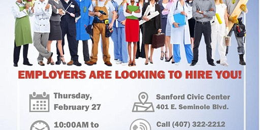 City of Sanford & Sanford Chamber of Commerce Job Fair