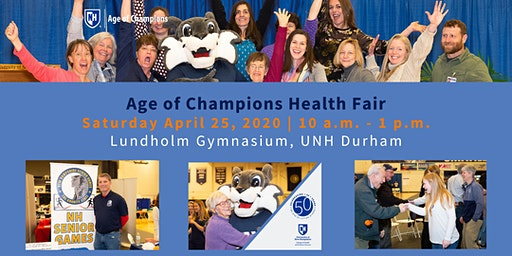 2020 Age of Champions Health Fair