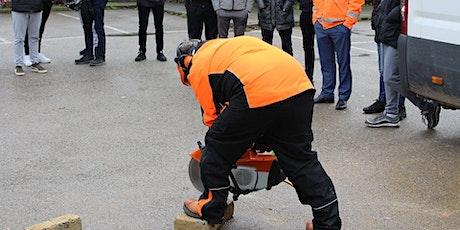 Petrol Driven Cut Off Saw (Abrasive Wheels) tickets