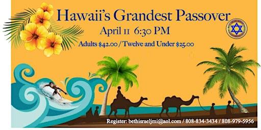 Hawaii Passover Gala Banquet