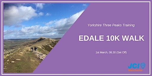 Yorkshire Three Peaks Walking Training - Edale 10K