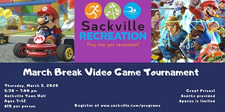 March Break Kids Video Game Tournament tickets