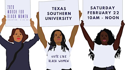 Rally and March for Black Women 2020 tickets