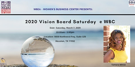 2020 Vision Board Saturday @ WBC tickets