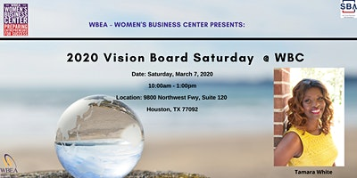 2020 Vision Board Saturday @ WBC