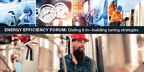 Energy efficiency forum tickets