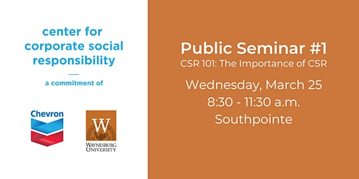 Public Seminar #1