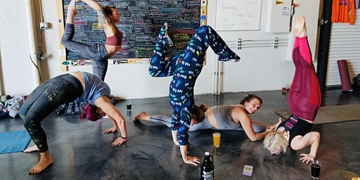 Yoga at Fort Orange Brewing- March 8