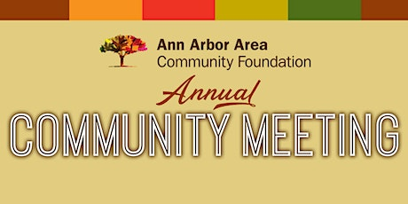2020 Annual Community Meeting tickets