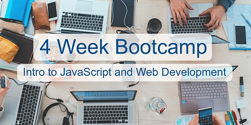 Intro to JavaScript & Web Development  In-Person Adult Coding Bootcamp