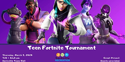 Teen Fortnite Tournament