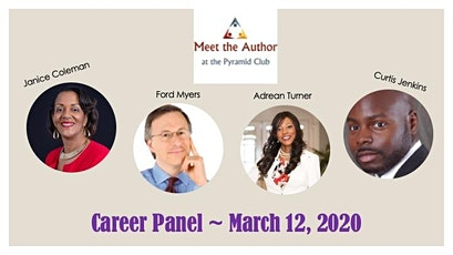Meet the Author at the Pyramid Club: Career Panel tickets
