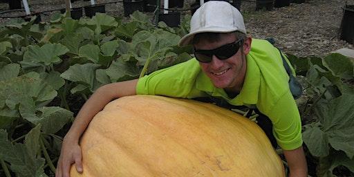 Monsters in the Garden: Growing Giant Pumpkins