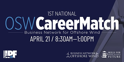 OSW CareerMatch | Job Fair for Careers in Offshore Wind Industries