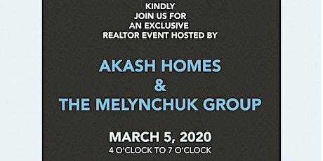 Akash Homes & The Melnychuk Group Present: Realtor Mix & Mingle tickets