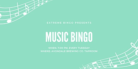 Music Bingo in the Taproom - 2/25 tickets