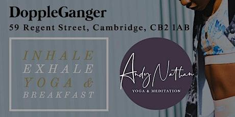 Inhale:Exhale Yoga Breakfast @ Doppleganger Burger tickets