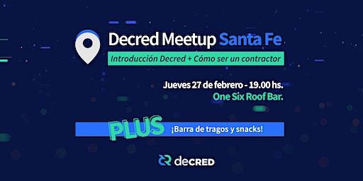 Decred Meetup en Santa Fe