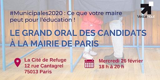 Le Grand Oral des candidats à la mairie de Paris