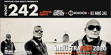 Front 242 with special guests Curse Mackey + IIOIOIOII tickets