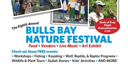 Family Fishing at the Bulls Bay Nature Festival