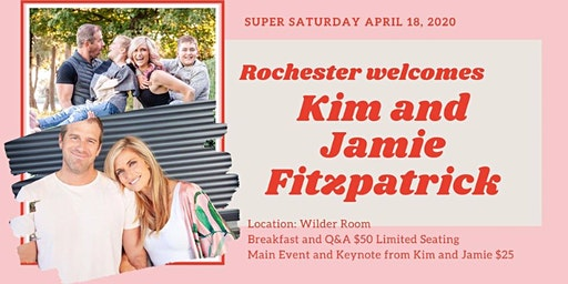 Rochester Super Saturday with Kim and Jamie Fitzpatrick