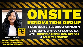 Onsite Renovation Group at Ashley's Finished Rehab in Atlanta