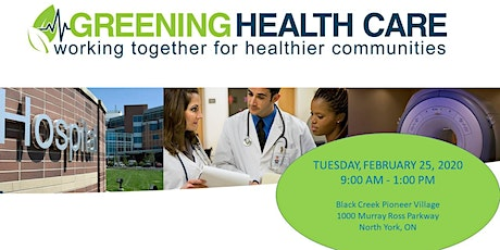 Greening Health Care Workshop - Member Hospitals & Sponsors tickets