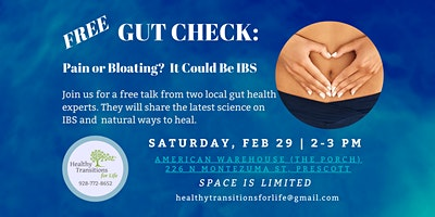 Free Gut Check: Pain or Bloating? It Could Be IBS