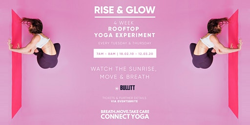 Rise and Glow- 4 week rooftop yoga experiment