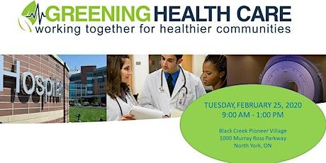Greening Health Care Workshop - 25 February 2020 tickets