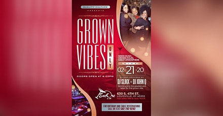 GROWN VIBES ONLY [GVO] tickets