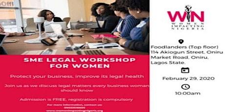 SME  LEGAL WORKSHOP FOR WOMEN tickets