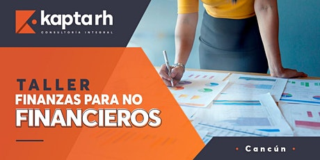 Taller: Finanzas para NO Financieros boletos
