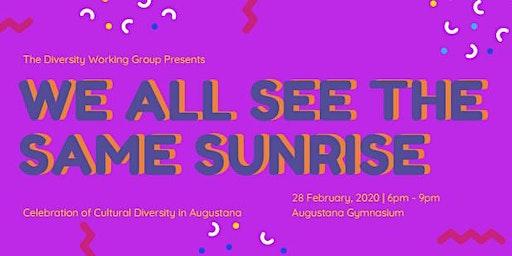 We All See the Same Sunrise