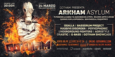 Gotham pres. Arkham Asylum [Fallas] entradas