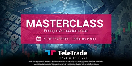 Master Class - Finanças Comportamentais tickets
