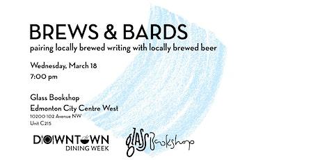 Brews & Bards - Glass Bookshop tickets