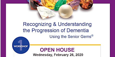 Recognizing  & Understanding the Progression of Dementia Using Senior Gems® tickets
