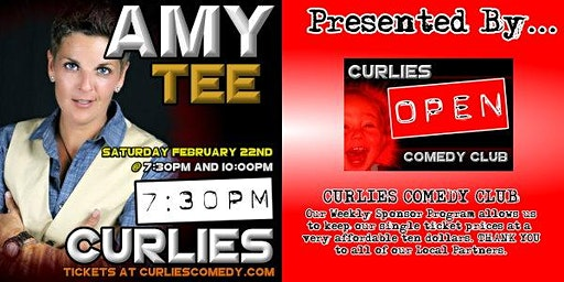 Amy Tee at Curlies Comedy Club