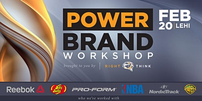 POWER BRAND WORKSHOP: by Right Think