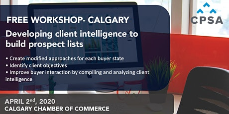Free Workshop- Calgary: Building Effective Prospect Lists tickets