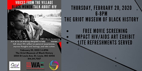 Voices From The Village: Black Women Talk About HIV tickets