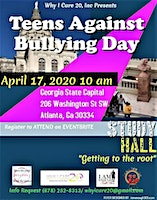 Teens Against Bullying Day - Why I Care 20 Inc