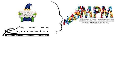 Le développement du langage et de la lecture pour les enfants 0-5 ans billets