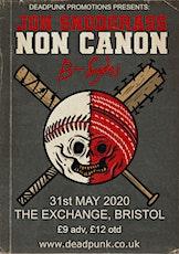 Jon Snodgrass, Non Canon & B-Sydes at Exchange, Bristol tickets