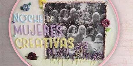 Noche de Mujeres Creativas  *MARZO* boletos