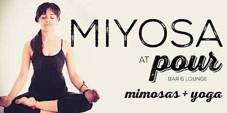 MIYOSA -  Mimosas and Yoga tickets