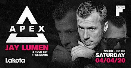 Apex Presents: Jay Lumen (3 Hour Set) tickets